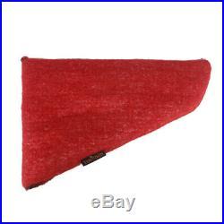 Tourbon Pistol Gun Safe Sock Silicone Hand Gun Case Soft Padded 3 Pack in Red