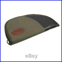 Tourbon Pistol Soft Padded Rug Case Hand Gun Storage Large Bag 14.5 Hunting Zip