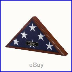 Triangle Flag Case Hand Made By Veterans