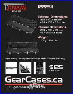 Tsunami 1222311 Protective Firearm Hard Case