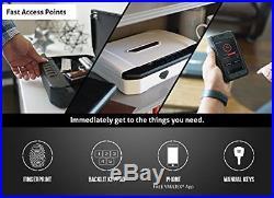 VAULTEK VT20i Biometric Fingerprint Handgun Safe Smart Pistol Safe Gun Auto-Open
