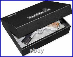V-Line Top Draw Locking Tactical Gun Storage Box, Black