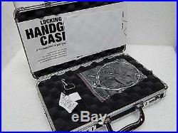 Vaultz Hand Gun case Box 14.75x10x3.5 with Lock, NEW Custom Designs