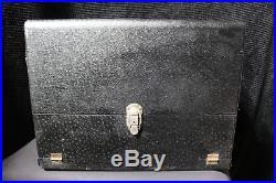 Vintage 1967 Pachmayr Gun Works 4 Pistol Super Deluxe Gun Range Box GD CONDITION