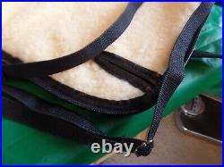 Vintage 51X Vinyl Pistol Hand Gun Case Fleece Lined Withshoulder strap 15x8x2
