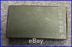 Vintage Colt Woodsman Target Model 4 1/2.22 cal box With Booklet Target Tag etc