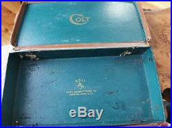Vintage Colt Woodsman Target box six inch barrel. 22