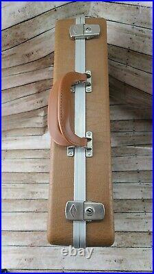 Vintage Doskocil Hand Gun Pistol Storage Hard Carry Case 18 x 14 x 4