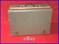 Vintage Excelsior Deluxe 5 Gun Box/Case with Extra Storage