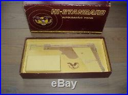 Vintage Factory Box For Hi-Standard Sport King & others. Autoloading Pistol Box