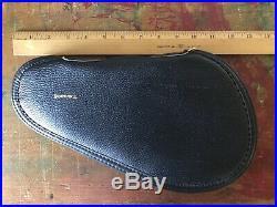 Vintage Factory Browning Black Revolver Pistol Soft Case Gun Rug SUPER CLEAN
