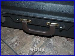 Vintage Gun Guard Rifle Shotgun Hard Shell Carrying Case 52 x 13 x 5 Black