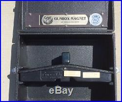 Vintage Gun-Ho Shooting Range Box 4 Gun Pistol Case with Gunbox Magnet