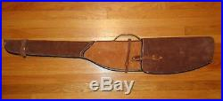 Vintage Hand Tooled Leather Long Gun Case Rifle Made in Mexico 50