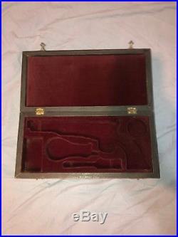 Vintage Pelson Inc. Colt 1863, Handcrafted Pistol Presentation Gun Case