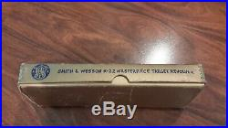 Vintage S&W Smith & Wesson K-22 Masterpiece Gold Factory Box For 6-Inch Barrel