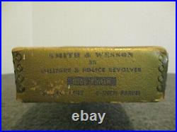 Vintage Smith & Wesson S&w 38 Military & Police Revolver (box Only) Blue Finish