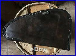 Vintage Soft Red Head Felt Pistol Gun Case 12.5 X 8 Zipped Up Hand Gun