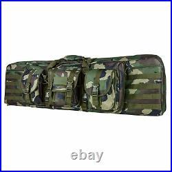 Vism Cvdc2946wc-42 42 Inch Double Carbine Case-woodland Camo