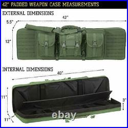 Voodoo Tactical Men's Padded Weapons Case Olive Drab 42