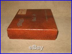 Walther Firearms PPK / S Pistol Box 1960's Alligator Case German Manual Tools