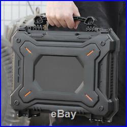 Waterproof Protective Case Gun Pistol Camera Storage Box Shockproof Handgun Case