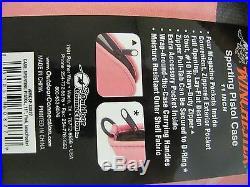 Winchester 11 Sporting Revolver Hand Gun Pistol Case, Zippered, Pink NEW