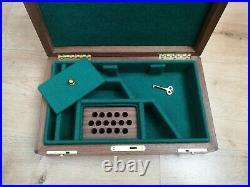 Wood Case Box Pistol Luger P08 Parabellum