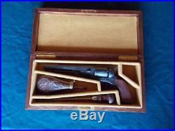 Wood Case Box Revolver Colt 1851 Colt Navy Colt Army Remington 1858